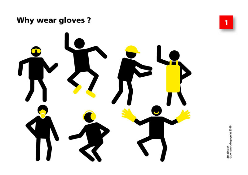 Why wear protective gloves ?